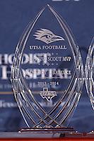 SAN ANTONIO, TX - APRIL 25, 2014: The First Annual UTSA Football Banquet at the Alamodome. (Photo by Jeff Huehn)