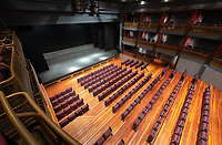 Keck Theater, Sept. 11, 2018.<br /> (Photo by Marc Campos, Occidental College Photographer)
