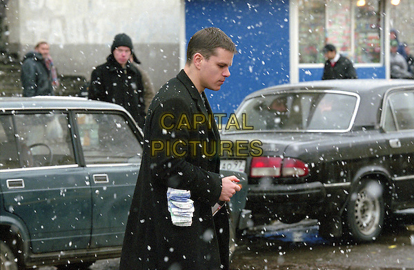 MATT DAMON .in The Bourne Supremacy.*Editorial Use Only*.www.capitalpictures.com.sales@capitalpictures.com.Supplied by Capital Pictures.