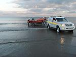 Drogheda Coast Guard sea swim clogherhead.Picture Fran Caffrey/www.newsfile.ie.