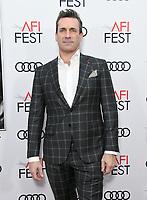 "20 November 2019 - Hollywood, California - Jon Hamm. 2019 AFI Fest - ""Richard Jewell"" Los Angeles Premiere<br />  held at TCL Chinese Theatre. Photo Credit: Birdie Thompson/AdMedia"