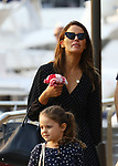 Jodi Gordon Lunches At China Doll With Daughter Aleeia & Mystery Man