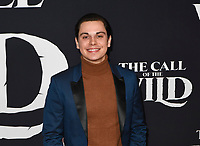 "13 February 2020 - Hollywood, California - Jake T. Austin. ""The Call of the Wild"" Twentieth Century Studios World Premiere held at El Capitan Theater. Photo Credit: Dave Safley/AdMedia"