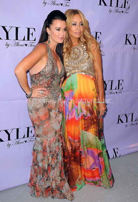 WWW.ACEPIXS.COM . . . . .  ....July 21 2012, LA....Kyle Richards and Faye Resnickat the grand opening for the new boutique 'Kyle By Alene Too' on July 21, 2012 in Beverly Hills, California.....Please byline: PETER WEST - ACE PICTURES.... *** ***..Ace Pictures, Inc:  ..Philip Vaughan (212) 243-8787 or (646) 769 0430..e-mail: info@acepixs.com..web: http://www.acepixs.com