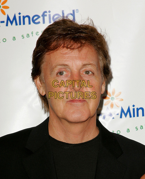 SIR PAUL McCARTNEY.The 4th Annual Benefit Gala for Adopt-A-Minefield held at The Century Plaza Hotel in Century City, California.October 15th, 2004.headshot, portrait.www.capitalpictures.com.sales@capitalpictures.com.©Debbie Van Story/Capital Pictures
