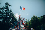 Today is Bastille Day during Stage 9 of the 2019 Tour de France running 170.5km from Saint-Etienne to Brioude, France. 14th July 2019.<br /> Picture: ASO/Thomas Maheux | Cyclefile<br /> All photos usage must carry mandatory copyright credit (© Cyclefile | ASO/Thomas Maheux)