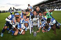 Porto's players celebrates a victory in championchip during the Zon Sagres League match between Paços Ferreira and FC Porto, at Mata Real Stadium in Paços de Ferreira on May 19, 2013 (Photo Credits: Paulo Oliveira/DPI) NortePhoto.com