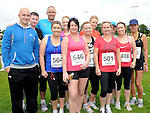 Members of A&S Fitness Laytown who took part in the REHAB 10k run organized by St Colmcilles GAA club. Photo: Colin Bell/pressphotos.ie
