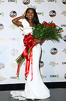 09 September 2018 - Atlantic City, NJ- Miss America 2019 Nia Franklin.  Miss America 2019 post crowning press conference at Boardwalk Hall.  <br /> CAP/ADM/MJT<br /> &copy; MJT/ADM/Capital Pictures