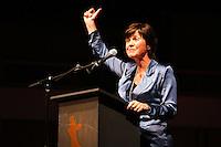 UTRECHT, 24 september 2014<br /> Nederlands Film Festival<br /> Openingsavond<br /> Openingsspeech Willemien van Aalst, directeur festival<br /> Foto Ramon Mangold