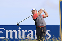 Eddie Pepperell (ENG) tees off the 15th tee during Thursday's Round 1 of the Dubai Duty Free Irish Open 2019, held at Lahinch Golf Club, Lahinch, Ireland. 4th July 2019.<br /> Picture: Eoin Clarke | Golffile<br /> <br /> <br /> All photos usage must carry mandatory copyright credit (© Golffile | Eoin Clarke)