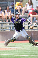May 15, 2009:  Catcher Matt Lucchesi of Niagara University in the field during a game at Demske Sports Complex in Buffalo, NY.  Photo by:  Mike Janes/Four Seam Images