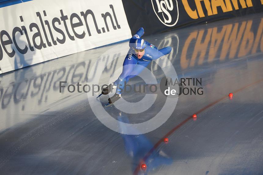 SPEED SKATING: COLLALBO: Arena Ritten, 11-01-2019, ISU European Speed Skating Championships, David Bosa (ITA), ©photo Martin de Jong
