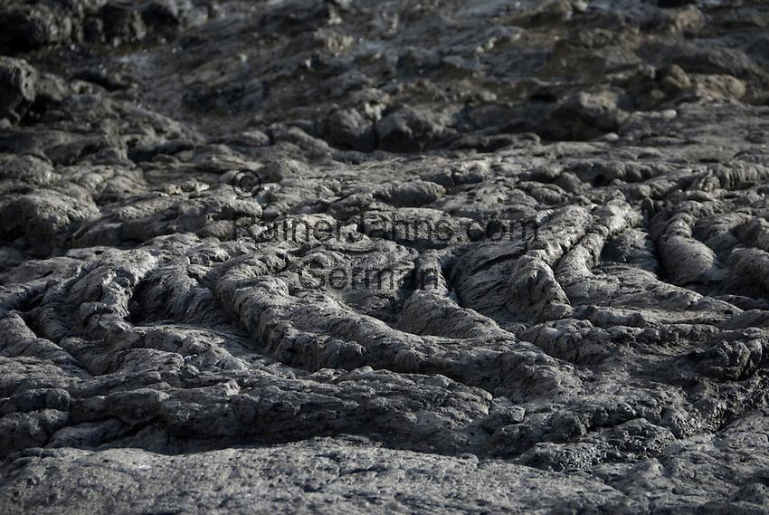 Spain, Canary Islands, La Palma, solidified lava