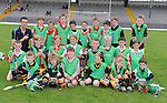 17-08-2013: To celebrate CentraÕs sponsorship of the GAA Hurling All-Ireland Senior Championship, The Centra  Brighten up Your  Day Community event took place at Fitzgerald Stadium, Killarney on Saturday.  Pictured is  Centra GAA Hurling Ambassador and Kilkenny  hurler Colin Fennelly with a group of young hurlers. Picture: Eamonn Keogh (MacMonagle, Killarney)