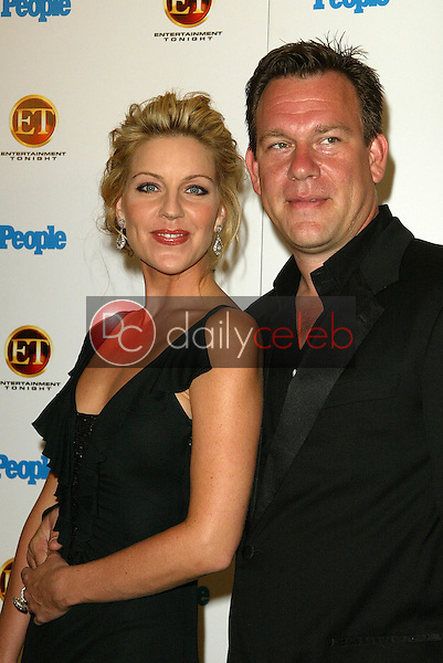 Andrea Parker and friend<br />