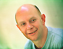 Nick Hornby author  pic Geraint Lewis