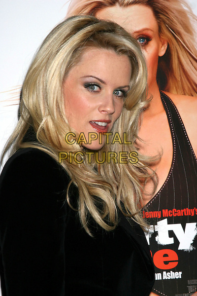 "JENNY McCARTHY .In celebration of the new movie ""Got Dumped"" at Cain in New York City..September 21st, 2005 .headshot portrait.www.capitalpictures.com.sales@capitalpictures.com.©Capital Pictures"