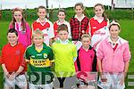 Budding GAA stars enjoying the Cúl Camp in Causway last week. .Front L-R Darren Barrett, Gerard Leen, Gary Caray, Melissa O'Sulivan and Jasmine Griffin. .Back L-R Clodagh O'Carroll, Ruby O'Riordan, Valerie Kiely, Cara Segal and Alysia Guiney.