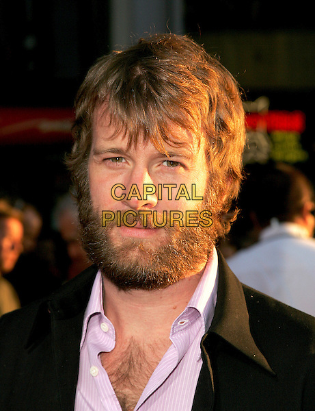 THOMAS JANE.The World Premiere of Ladder 49 held at The El Capitan Theatre in Hollywood, California.September 20, 2004.headshot, portrait, beard, facial hair.www.capitalpictures.com.sales@capitalpictures.com.Copyright Debbie VanStory