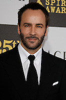 US designer Tom Ford arrives at the 25th Independent Spirit Awards held at the Nokia Theater in Los Angeles on March 5, 2010. The Independent Spirit Awards is a celebration honoring films made by filmmakers who embody independence and originality..Photo by Nina Prommer/Milestone Photo