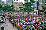 Comemoração do Aniversário da Cidade de São Paulo. 1992. Foto de Juca Martins.