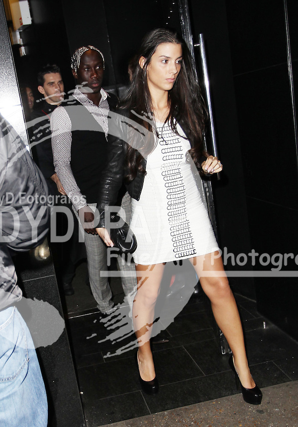 Arsenal FC Xmas Party at L'Atelier Restaurant in West St, London<br /> <br /> Bacary Sagna<br /> <br /> Photo: Iso / DYD Fotografos