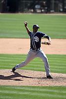 Luis Perdomo - San Diego Padres 2016 spring training (Bill Mitchell)