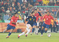 Chile vs Spain, June 25, 2010