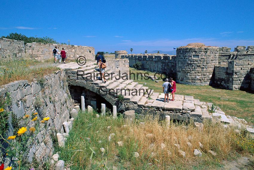 Greece, Dodecanese, Kos Island, Kos-Town: Castle of the Knights of Saint John | Griechenland, Dodekanes, Insel Kos, Kos-Stadt: Castle of the Knights of Saint John