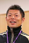Yuki Sasahara, APRIL 21, 2013 : The Building up Team Japan 2013 for Sochi at Ajinomoto NTC, Tokyo, Japan. (Photo by AFLO SPORT)