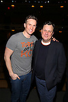 Claybourne Elder and Brooks Ashmanskas during the Actors' Equity opening night Gypsy Robe Ceremony honoring  MaryAnn Hu for ''Sunday in the Park with George' at the Hudson Theatre on February 23, 2017 in New York City.