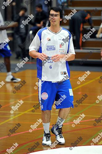 2011-08-13 / Basketbal / seizoen 2011-2012 / Kangoeroes Boom - Kabo / Deloose Nick..Foto: Mpics