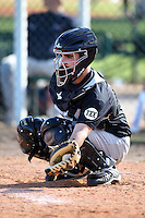 December 28, 2009:  Cabral Manuel (11) of the Baseball Factory Commodores team during the Pirate City Baseball Camp & Tournament at Pirate City in Bradenton, FL.  Photo By Mike Janes/Four Seam Images