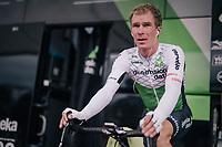 Tom-Jelte Slagter (NED/Dimension Data) warming up<br /> <br /> Stage 20 (ITT): Saint-Pée-sur-Nivelle >  Espelette (31km)<br /> <br /> 105th Tour de France 2018<br /> ©kramon