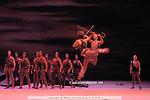 BALLET DU THEATRE BOLCHOI..SPARTACUS PROGRAMME 3..Auteur : GIOVANOLI Raffaello..Choregraphie : GRIGOROVITCH Iouri..Orchestre : Orchestre Colonne..Decor : VIRSALADZE Simon..Costumes : VIRSALADZE Simon..Avec :..Lieu : Opera Garnier..Ville : Paris..Le : 18 01 2008....© Laurent Paillier Agence Enguerand....