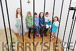 Behind bars at the Family Fun Day in the Old Barracks in Cahersiveeno Saturday were l-r; Sarah O'Connor, Johanna McCarthy, Aoife Cournane, Katie O'Connor, Sarah Cournane & Louise O'Connor.