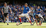 Kevin Kyle moving forwards like an unstoppable train