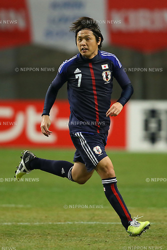 Yasuhito Endo (JPN), .FEBRUARY 6, 2013 - Football / Soccer : .KIRIN Challenge Cup 2013 Match between Japan 3-0 Latvia .at Home's Stadium Kobe in Hyogo, Japan. .(Photo by Akihiro Sugimoto/AFLO SPORT)