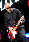 The Who's Pete Townshend performs during the band's performance at the Toyota Center Saturday Nov. 18,2006.(Dave Rossman/For the Chronicle)<br />