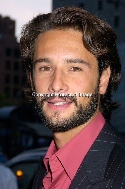 "Rodrigo Santoro ..at a party for the screening of  ""Carandiru ""at the Tribeca Film Festival  on May 7, 2004  at Churrascuria...Photo by Robin Platzer, Twin Images"
