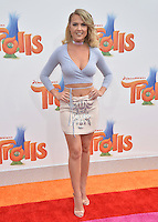LOS ANGELES, CA. October 23, 2016: Victoriah Bech at the Los Angeles premiere of &quot;Trolls&quot; at the Regency Village Theatre, Westwood.<br /> Picture: Paul Smith/Featureflash/SilverHub 0208 004 5359/ 07711 972644 Editors@silverhubmedia.com