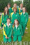 Front l-r were: Una Marley and Clare Brennan. Middle l-r were: Louise O'Connor, Anne Moore McGilton and Laura Lynch. Back l-r were: Brian Barry, Molly McGilton and Eoin O'Carroll.