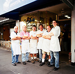 The iconic Swan's Oyster Depot in the Russian Hill neighborhood of San Francisco has been family-owned for 96 years.