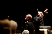 Dallas Symphony Orchestra Conductor Jaap van Zweden (cq) leads a performance of Requiem by Verdi at the Eugene McDermott Concert Hall in the Meyerson Symphony Center in Dallas, Texas, at 8:21PM Wednesday, April 24, 2008. The performance included a full orchestra and also included the Dallas Symphony Chorus...MATT NAGER/SPECIAL CONTRIBUTER..