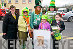St Patricks Day Parade, Listowel: Taking part in the Listowel St.Patrick's Day parade in Listowel were representatives of The Seanachai Centre, Listowel. L- R : Cara Trant, Angeline O'Donnell, Darragh O'Donnell, Ava Flannagan, Yvonne Dineen & Courtney Flannagan.