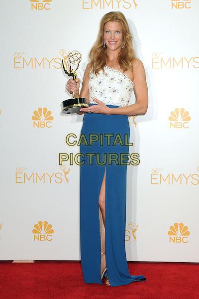 25 August 2014 - Los Angeles, California - Anna Gunn. 66th Annual Primetime Emmy Awards - Press Room held at Nokia Theatre LA Live. <br /> CAP/ADM/BGP<br /> &copy;BGP/ADM/Capital Pictures