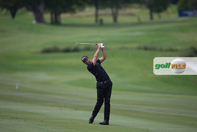 Seve Benson (ENG) plays second shot to the 14th on the West Course during Round Two of the Joburg Open 2015 at the Royal Johannesburg & Kensington Golf Club, Johannesburg, Gauteng, South Africa. Picture:  David Lloyd / www.golffile.ie. 27/02/2015