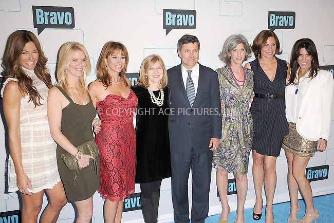 WWW.ACEPIXS.COM . . . . . .March 30, 2011...New York City...Kelly Bensimon, Alex McCord, Jill Zarin, Chris Burke, Lauren Zalaznick,  Cindy Barshop and LuAnn de Lesseps attend the 2011 Bravo Upfront at 82 Mercer  on  March 30, 2011 in New York City....Please byline: KRISTIN CALLAHAN - ACEPIXS.COM.. . . . . . ..Ace Pictures, Inc: ..tel: (212) 243 8787 or (646) 769 0430..e-mail: info@acepixs.com..web: http://www.acepixs.com .