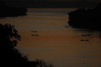 Rio Itacaiunas afluente do Tocantins.<br /> Marabá, Pará, Brasil.<br /> Foto Paulo Santos<br /> 16/08/2009